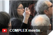 Complex scientists engage with stakeholders in a high profile  event in Sweden in January  2016.